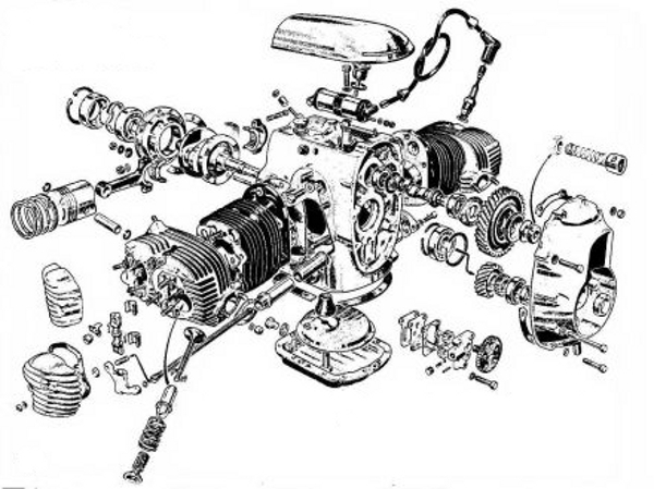 Diagram Of Bmw 750 Engine on carburetted motorcycle stalls when accelerator is applied
