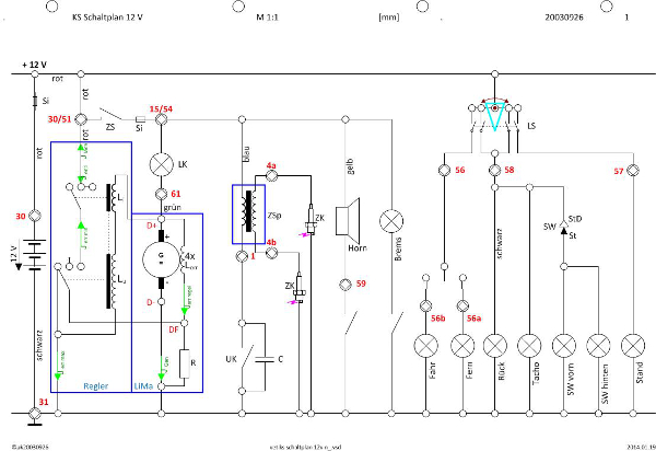 Großartig Club Autobatterie Schaltplan Bilder - Elektrische ...